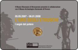 *ITALIA: L'ORO DEGLI ETRUSCHI* - Scheda Usata - Public Practical Advertising