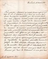 1785- L.S. Par Les Procureurs D'AIX (13) Aux Consuls De LE LUC (83) Relative à Des MÛRIERS (pour Les Vers à Soie) - Documentos Históricos