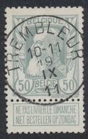 "Grosse Barbe - N°78 Obl Simple Cercle (concours) ""Trembleur"" (T2 R) - 1905 Thick Beard"