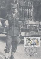 D38782 CARTE MAXIMUM CARD 1987 FRANCE - MARECHAL LECLERC WW II CP ORIGINAL - WO2