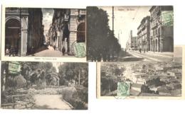 CAGLIARI 4 Cartoline V Ia Lodovico Baille (colori) Ecc. 1926 - Oristano