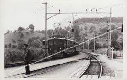 SBB CFF Deh 4/6 SBB ZAHNRAD GEPÄCKTRIEBWAGEN ZWISCHEN INTERLAKEN UND LUZERN # 906 ZENTRALBAHN BRÜNIG BAHN UM 1950 - Trains
