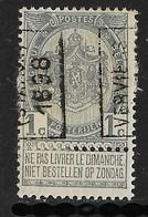 Verviers Station 1898  Nr. 163A - Voorafgestempeld