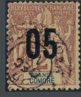 Colonie Française 1912 Grande Comore Navigation Commerce Omnibus - Ohne Zuordnung