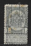Verviers Station 1898  Nr. 163B - Voorafgestempeld