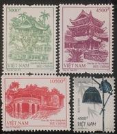 Lot Of 4 Vietnam Viet Nam MNH REPRINT Perf Stamps 2018 : Pagoda / Architecture / Bridge / Handicraft - 02 Photo - Viêt-Nam