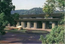 Bangui  L'immeuble De La BEAC  Cp Format 10-15 - Zentralafrik. Republik