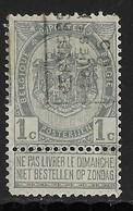 Verviers Ouest 1905  Nr. 698A - Voorafgestempeld