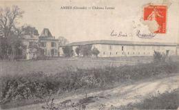 33-AMBES-CHÂTEAU LAUSAC-N°363-G/0095 - France