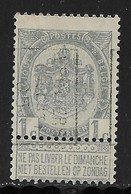 Verviers Ouest 1905  Nr. 698B - Voorafgestempeld