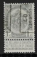 Verviers Ouest 1907  Nr. 898B - Voorafgestempeld