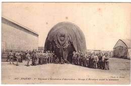 ANGERS - 1er  Régiment  D'Aérostation D'Observation - Groupe D'Aérostiers - Angers