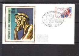 1988 Millénaire De La Principauté De Liège - Le Mineur De Constantin Meunier - FDC