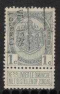 Verviers Ouest 1910  Nr. 1491B - Voorafgestempeld