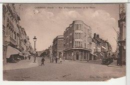 59 - CAMBRAI - Rue D'Alsace Lorraine Et La Herse - Cambrai