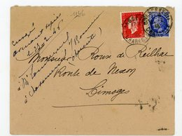 "FRANCE - DULAC ET MAZELIN -  N° Yt 674+693 Obli."" CHASSENEUIL 26/2/1948 "" - 1944-45 Maríanne De Dulac"