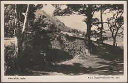 Vale Of St John, Cumberland, 1947 - JL Topaz RP Postcard - Cumberland/ Westmorland