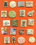 Lot De 20 Feves Anciennes Dautrey / Prime Porcelaine Et Faience Dont Persos - Ideal Echange - Anciennes