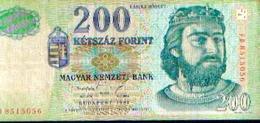 HONGRIE : 200 FORINT 1998 - Hongrie