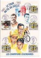 DOCUMENT CYCLISME TOUR DE FRANCE DU CENTENAIRE - CHAMPIONS LEGENDAIRES - Wielrennen