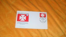 ENVELOPPE FDC DE 1997.../ WALLIS ET FUTUNA DRAPEAUX DES MONARCHIES WALLISIENNES ET FUTUNIENNES ROI LAVELUA - Covers & Documents