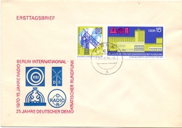 GERMAN  PIRNA FDC BERLIN INTERATIONAL RADIO   1970    (GENN200989) - [6] Repubblica Democratica