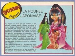COUPURE De PRESSE PUB - PUBLICITÉ NAHOMI LA POUPÉE JAPONAISE - NAHOMI THE JAPANESE DOLL - KIMONO GEISHA - Poupées