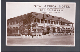 TANZANIA Dar- Es- Salaam Tanganyika - New Africa Hotel Old Real Photo Postcard - Tanzania