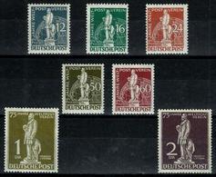 Berlín Nº 21/27 Nuevos. Cat.900€ - Unused Stamps