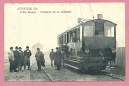 68 - Vogesen - MUNSTER - SCHLUCHT - Tramway électrique - Bergbahn - Zahnradbahn - Schluchtbahn - France