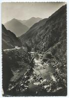 58 - ANDORRE - VALLS D'ANDORRA - Route De La Massane / Carretera De La Massana - CPSM N&B -Scan Recto-Verso - Andorre