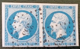 361- 14 B - Paire PC  353 Belleme  Orne 59 - 1853-1860 Napoléon III