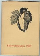 Schwebsingen 1955 Brochure. - Cartes Postales