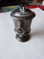 Ancien Briquet  De Table  De Marque Collibri  A Gaz - Andere