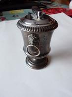 Ancien Briquet  De Table  De Marque Collibri  A Gaz - Briquets
