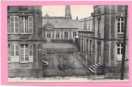 80 BEAUVAL - L'Ecole Des Garçons - Beauval