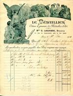 """PARIS.EDITION & GRAVURE DE MEDAILLES D'ART. """" LE MEDAILLIER.Mme.LAGARDE DIRECTRICE 13 RUE DU CONSERVATOIRE. - France"""