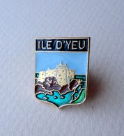 Pin's ILE D'YEU - Ciudades