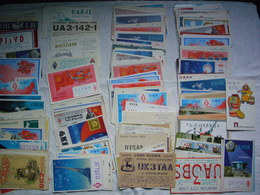 Lot D'environ 180 Cartes QSL Radio Amateurs D'URSS Ou USSR - Radio Amateur