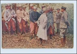 P3L44/ Der Europäische Krieg 1914/16  Französ. Kriegsgefangene AK 1. Weltkrieg - Guerra 1914-18