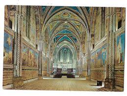 ITALIE----ASSISI---Basilica  Di S. FRANCESCO--i'interno--voir 2 Scans - Italy