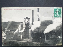 12 ,cransac ,puits De Fraysse En 1910........vue Peu Courante - France