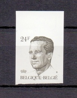 2209 Koning Boudewijn 24fr. ONGETAND POSTFRIS**  1986 - Belgique