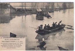 MONTREUIL-BELLAY - Catastrophe Du  23 Novembre 1911, Train D'Angersc à Poitiers - Montreuil Bellay