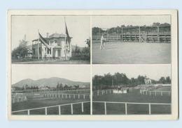 E783/ Santiago De Chile Deutscher Sport-Verein  Tennis Reitsport AK Ca.1925 - Chili