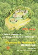 Loire Atlantique        H299        Herbignac.Château De Ranrouët - Herbignac