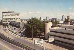 Loire Atlantique        H340        Nantes.La Gare SNCF Et L'immeuble Parking - Nantes