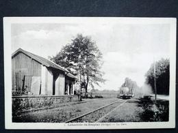 09 ,labastide De Besplas ,l'arrivée Du Train En Gare - Frankreich