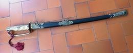 Sabre De Parade D'officier De Marine Japonais (Repro) - Knives/Swords