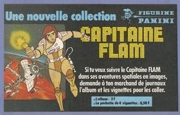 COUPURE De PRESSE PUB - PUBLICITÉ SÉRIE TV TÉLÉVISION CAPITAINE FLAM  FIGURINE PANINI - Figurines